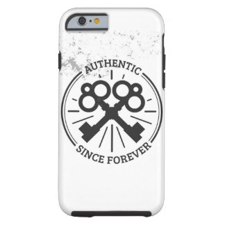 - Hipster Authentic Since Forever iphone Case -