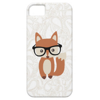 Hipster Baby Fox w/Glasses iPhone 5 Cover