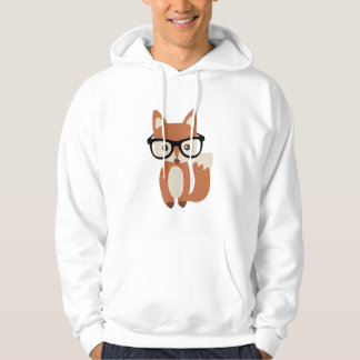 Hipster Baby Fox w/Glasses Sweatshirt
