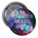 Hipster badge. 3 inch round button