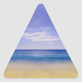 Hipster Beach Triangle Stickers