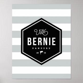 Hipster Bernie Poster