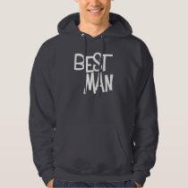 Hipster Best Man Hoodie