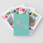 Hipster Birds Bicycle Playing Cards