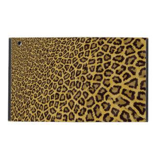 Hipster Black Yellow Animal Print Pattern iPad Covers