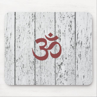 Hipster Boho Om Fence Mouse Pad
