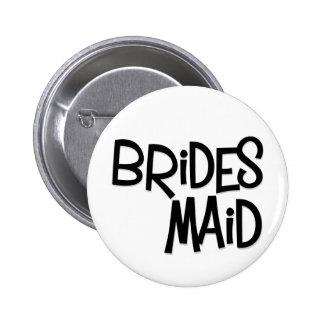 Hipster Bridesmaid Pin