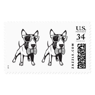 Hipster Bully Double Whammy! Postage Stamps