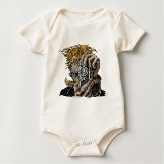 Hipster Camera Baby Bodysuit