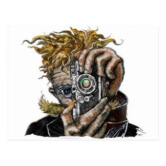 Hipster Camera Postcard