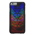 HIPSTER CAT ART BARELY THERE iPhone 6 CASE