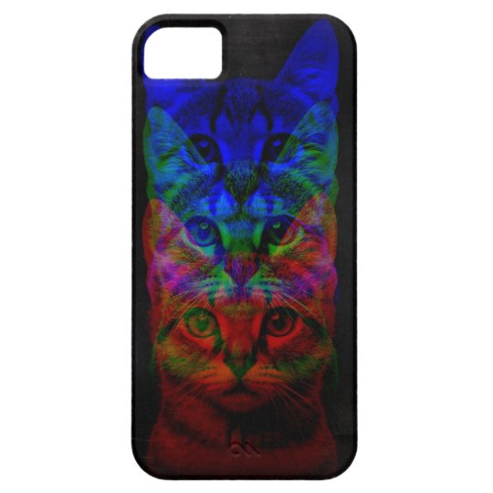 HIPSTER CAT ART iPhone SE/5/5s CASE