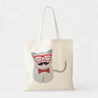 Hipster Cat Bag