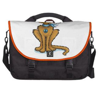 Hipster Cat Laptop Commuter Bag