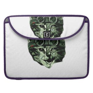 Hipster Cat MacBook Pro Sleeve
