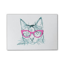 Hipster Cat Post-it Notes