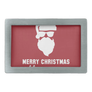 Hipster Christmas Belt Buckle
