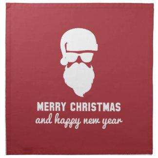 Hipster Christmas Napkins