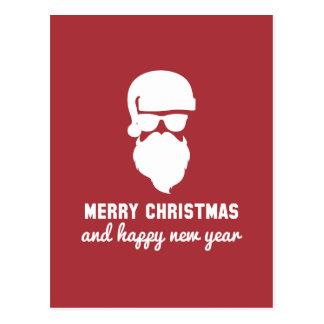 Hipster Christmas Postcard