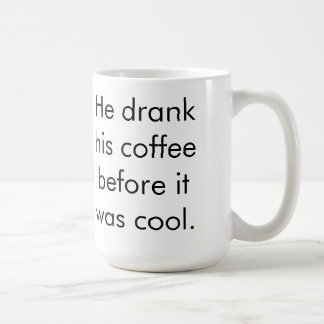 Hipster Coffee (2) Classic White Coffee Mug