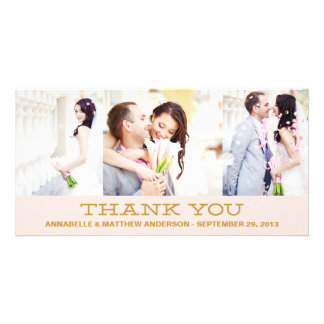 HIPSTER COLLAGE | WEDDING THANK YOU PHOTO CARD