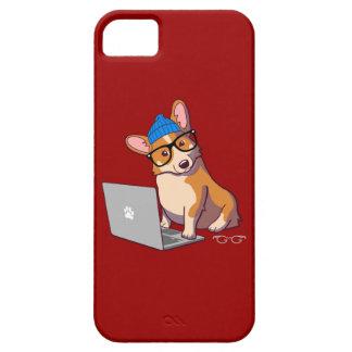 Hipster Corgi 2 iPhone 5 Cases