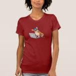 Hipster Corgi 2 T Shirts