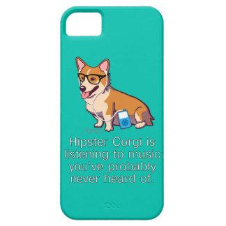 Hipster Corgi iPhone 5 Covers