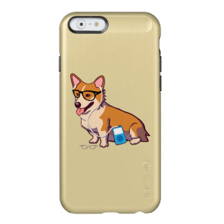 Hipster Corgi (without text) Incipio Feather Shine iPhone 6 Case