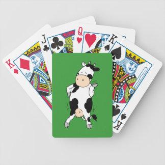 Hipster Cow mooviestars Card Decks