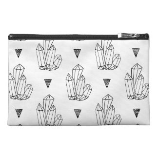 Hipster Crystals Doodle Travel Accessories Bag