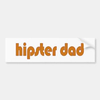 Hipster Dad Bumper Sticker
