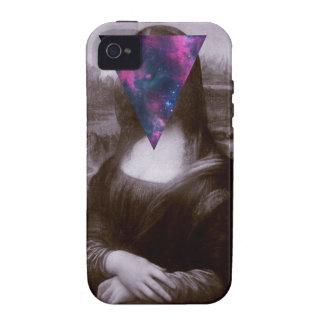 Hipster. de Mona Lisa Carcasa Para iPhone 4/4S