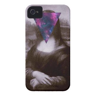 Hipster. de Mona Lisa Funda Para iPhone 4