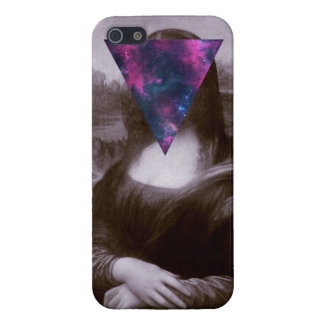 Hipster. de Mona Lisa iPhone 5 Protector