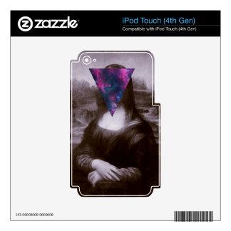 Hipster. de Mona Lisa Calcomanía Para iPod Touch 4G
