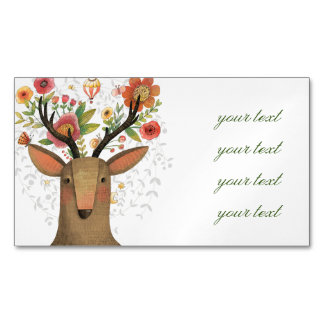 Hipster deer business cards templates zazzle for Hipster business card