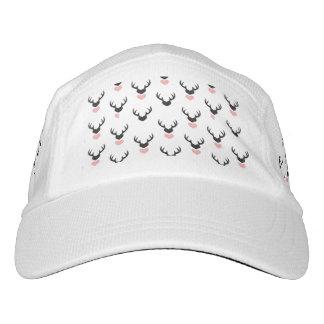 Hipster,deer,hearts,fun,modern,trendy,romantic,gir Hat