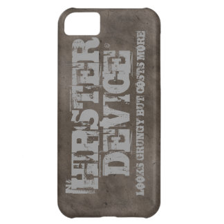 Hipster Device, Looks Grungy But Costs More iPhone Cover For iPhone 5C
