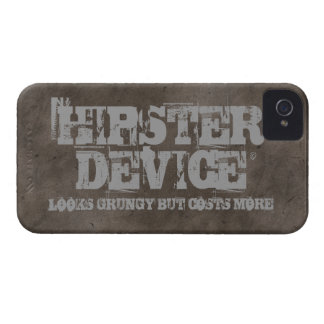 Hipster Device, Looks Grungy But Costs More iPhone iPhone 4 Cover