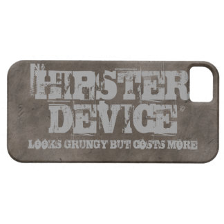 Hipster Device, Looks Grungy But Costs More iPhone iPhone SE/5/5s Case