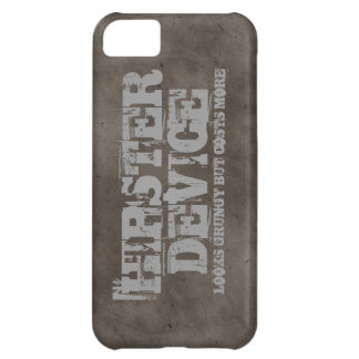 Hipster Device, Looks Grungy But . . . iPhone Case