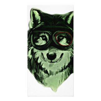 Hipster Dog Style Card