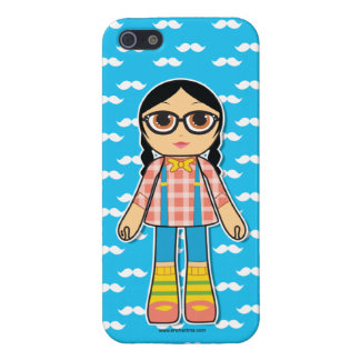 Hipster Doll Cell Phone Case