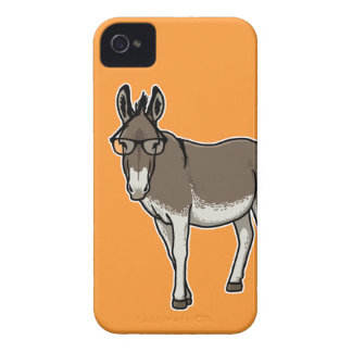 Hipster Donkey iPhone 4 Case-Mate Case