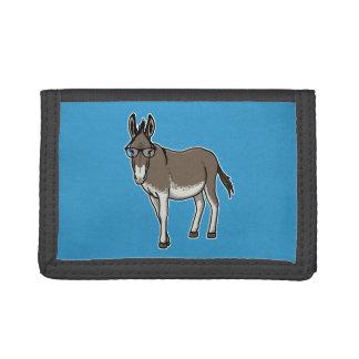 Hipster Donkey Tri-fold Wallet