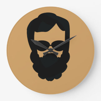 Hipster Dude Clock