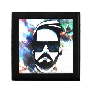Hipster Dude Jewelry Box