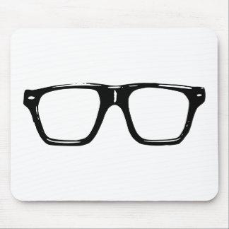 Hipster Eyeglass Mousepad