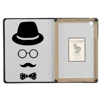 Hipster Face iPad 2 3 4 Air Mini DODOcase iPad Mini Retina Cases